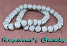 16 Strand Lt Silver 8mm Round Wonder Beads. Starting at $4 on Tophatter.com! http://tophatter.com/auctions/22017