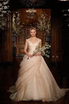 Junebug Fall 2014 Bridal Fashion Forecast | Dress by Romona Keveza