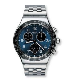 d3a6e2a9b48 Relógio Swatch Irony Chrono Boxengasse - YVS423G Lojas Online