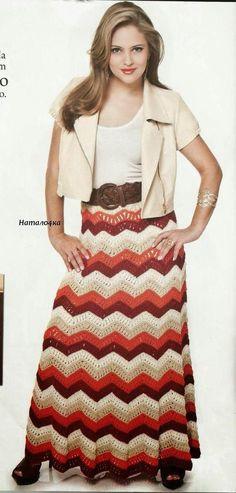 Crocheted skirts