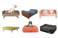 Your dog probably rates your lap as the number one sleep spot, but when that's not an option, these comfy beds would probably come in as a close second. Before you take your pick, consider your dog's size, sleep preferences, and any health concerns. An older dog may prefer a firm mattress, while an anxious pup may want a comforting cocoon to nestle into. No matter what type of bed your furry friend likes, there's one here that will fit your home's style—and your budget.