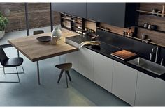 5 Outstanding Hacks: Kitchen Remodel Diy Built Ins colonial kitchen remodel butcher blocks.Old Kitchen Remodel How To Paint kitchen remodel modern concrete counter.Old Kitchen Remodel Small. Condo Kitchen Remodel, Apartment Kitchen, Kitchen Renovations, Old Kitchen, Vintage Kitchen, 1970s Kitchen, Narrow Kitchen, New Kitchen Designs, Kitchen Trends