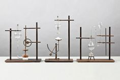 Relativitimepieces, by designer Mieke Meijer, is a series of conceptual, low-tech objects, resembling pre-industrial revolution engineering, made to measure time. These timepieces visualize the passing of time through the change of mass, volume and temperature.    Via Morfae