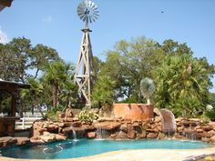 texas ranch landscaping ideas | The use of Rock and Water in the Texas Landscaping designs of Cactus ...