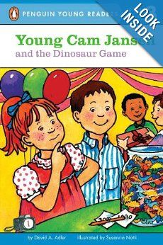 Young Cam Jansen and the Dinosaur Game: David A. Adler. Another great series of 16+ books about a girl who has a photographic memory which she uses to solve mysteries. Fun memory game in each book