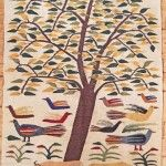 Tree of life tapestry: wall hanging, urban outfitters, purple