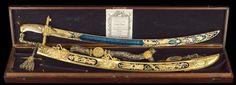 Cased Lloyd's Patriotic Fund Trafalgar Sword