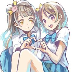 Love Live! School idol project, Koizumi Hanayo, Kotori Minami