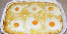 Kukurica so syrom, vajíčkom pripravená v pekáčiku! Baked Cheese, Baked Eggs, Keto Recipes, Cooking Recipes, Healthy Recipes, Romanian Food, Hungarian Recipes, Hungarian Food, Sausage And Egg