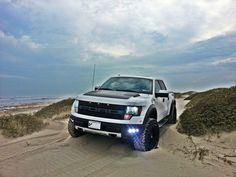 Ford F150 Raptor serious off-road capability. Watched the guys of Top Gear race it through the desert. Wow.
