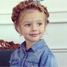 Anna Pavaga was born on November 2009 in Saint Petersburg, Russia. Cute Little Girls, Cute Baby Girl, Cute Kids, Cute Babies, Precious Children, Beautiful Children, Anna Pavaga, Reborn Toddler Dolls, Kids Around The World