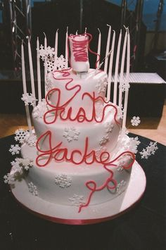 Ice Skating Theme Bat Mitzvah Cake The Event Of A Lifetime, Inc.