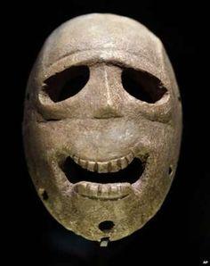 World's oldest masks, found near Jerusalem....