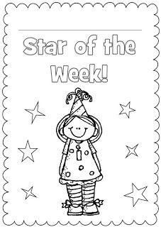 Fern's Freebie Friday ~ Star of the Week Classroom Booklet!