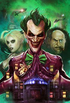 The Joker, Harley and The Penguin