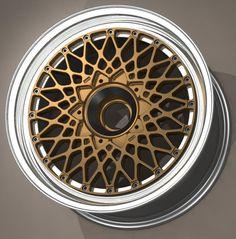 B-Star Forged Three Piece Centre Lock BTC / DTM Wheel