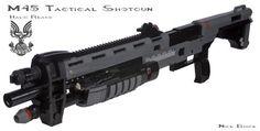Life-size LEGO Halo: Reach Shotgun!
