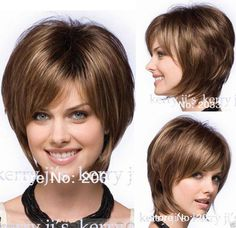 Reese by Noriko Wigs Straight Hair Wigs Fashion Short Brown Women's Wig