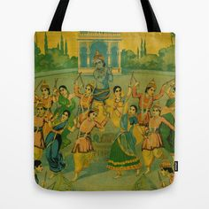 Indian Dance Tote
