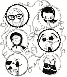 Characters  |  Design: www.pinkelephant.pl /layout /portfolio /design /sketch /characters
