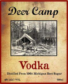 Deer Camp Vodka  Northern Lattitudes Distillery  Lake Leelanau, Michigan