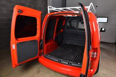 The Performance Company pleads guilt by association as it influences people to modify their cars with not-so-subtle hints provided by its Caddy delivery van Van Signs, Caddy Van, Volkswagen Caddy, Van Car, Van Interior, Mk1, Delivery, Vans, Sign Writing