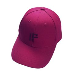 Sport Cap, HP95(TM) Embroidery [AND / IF] Cotton Baseball Cap Boys Girls Snapback Hip Hop Flat Hat (Wine) * Continue to the product at the image link. (This is an Amazon affiliate link)