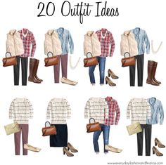 15 Key Pieces for Fall, 20 Outfit Ideas at everydayfashionandfinance.com