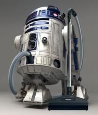 Star Wars Robot Vacuum Cleaner - Droids Star Wars - Ideas of Droids Star Wars - Star Wars Robot Vacuum Cleaner May inspire kids to vacuum and Dad too www.
