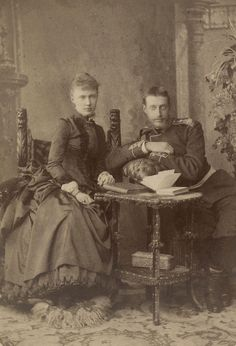 https://flic.kr/p/tU3u1h | TT II HH THE GRAND DUKE AND DUCHESS KONSTANTIN KONSTANTINOVICH AND ELIZABETH MAVRIKIEVNA