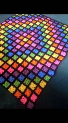 46 ideas crochet afghan granny square stained glass for 2019 Crochet Cardigan Pattern, Granny Square Crochet Pattern, Afghan Crochet Patterns, Crochet Squares, Crochet Granny, Knitting Patterns, Granny Squares, Crochet Wool, Crochet Quilt