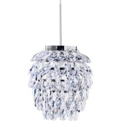 Buy Pineapple Shape Pendant Shade - Clear at Argos.co.uk, visit Argos.co.uk  to shop online for Lamp shades