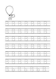 √ Preschool Letter B Tracing Worksheets . 6 Preschool Letter B Tracing Worksheets . Free Printables for Letter Tracing Worksheets for Handwriting Worksheets For Kids, Letter Worksheets For Preschool, Alphabet Tracing Worksheets, Kindergarten Worksheets, Alphabet Phonics, Printable Alphabet, Preschool Letter B, Preschool Math, Alphabet Writing Practice