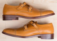 Ready for Spring: Shoe Porn: Style Pro x Mantorii Double Monk Strap Shoes, $319