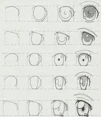 Resultado De Imagen Para Dibujar Anime Paso A Paso Para Principiantes Como Dibujar Anime Manga Como Dibujar Animes Como Dibujar Ojos Anime