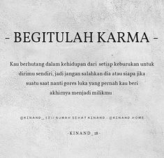 Karma Karma Quotes, Reminder Quotes, Self Reminder, People Quotes, Daily Quotes, Book Quotes, Me Quotes, Islamic Inspirational Quotes, Islamic Quotes