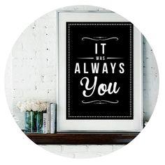 'Always You' Fine Art Print – Rock The Custard