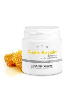 Gelée Royale - Contribue à réduire la fatigue (vitamine B2) - #geléeroyale, #miel - Complément alimentaire -  Prix : 26,50 € TTC