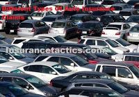 Different Types Of Auto Insurance Claims