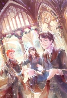 The Golden Trio by Raven wings