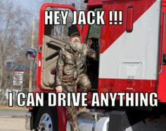 Hey Jack!!! I can drive anything