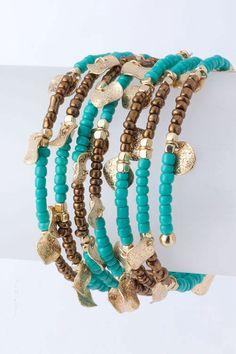 Mixed Shimmer Flake Bracelet | Awesome Selection of Chic Fashion Jewelry | Emma Stine Limited~<3