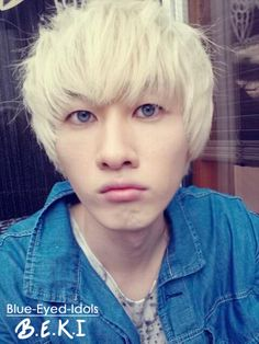 BLUE EYED K-POP IDOLS: #287  Lee Hyukjae (Eunhyuk) - Super Junior