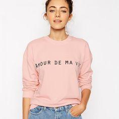 Amour de ma vie - Sweater - € 35,72 - Asos