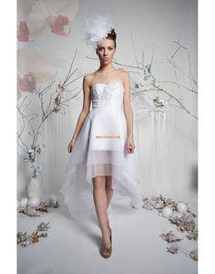 Hala Jaro 2014 S hlubokým výstřihem na zádech Levné svatební šaty