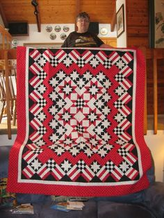 Quilt made for Quilts of Valor program