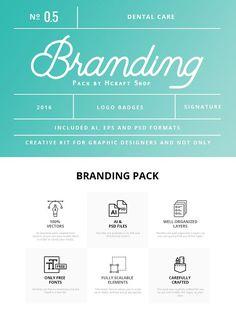 Dental Branding Pack 0.5 by Mcraft Shop on @creativemarket