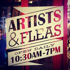 AVALOVE SHOP LIVE AT Artists and Fleas at Chelsea Market in New York, NY, 10th ave & 15th street