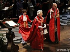 The Queen And The Duke Of Edinburgh Attend A Service For The Order Of The British Empire At St Paul's Cathedral