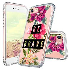 iPhone 7 Case, iPhone 7 Case for Women, MOSNOVO Cute Flor...